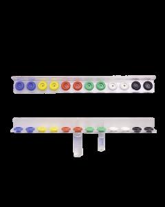 VARIOFLEX-Ampullenschiene Kst. einreihig für 12 Ampullen