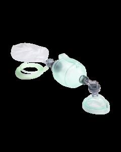 Einmal-Beatmungsbeutel Erwachsene Maske, Sauerstoff-Reservoir, 5 Stück
