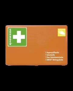 GGVSEB-Schutzausrüstung Behälter 2 Kunststoff orange