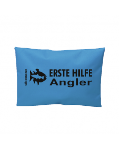 Erste Hilfe Angler blau