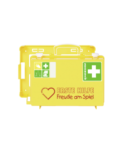 Erste-Hilfe-Koffer SN-CD gelb Freude am Spiel