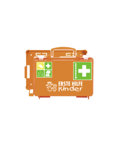Erste-Hilfe-Koffer QUICK-CD Kombi orange KINDERGARTEN