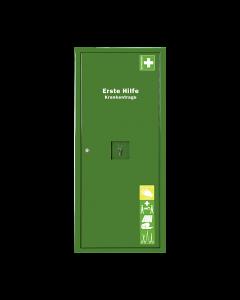 ANBAUSAFE Erste-Hilfe-Trage gefüllt grün