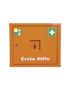 Verbandschrank JUNIORSAFE orange Füllung Standard DIN 13157