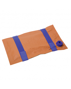 VacuSplint Infusionsschiene PA einkammerig mit 2 Klettbändern