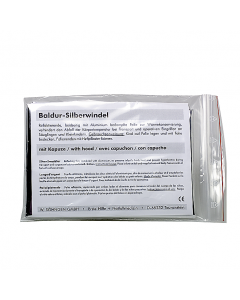 Baldur-Silberwindel mit Kapuze