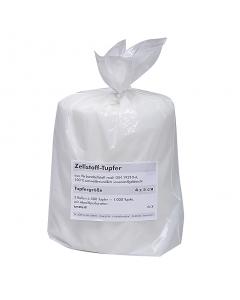 Zellstoff-Tupfer Beutel mit 2 Rollen