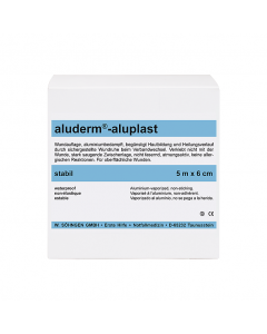 aluderm®-aluplast stabil 5 m x 6 cm
