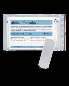 aluderm®-aluplast stabil Strips 2,5 x 7,2 cm 50 Stück