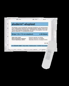 aluderm®-aluplast elastisch Strips 1,9x7,2 cm  50 Stück