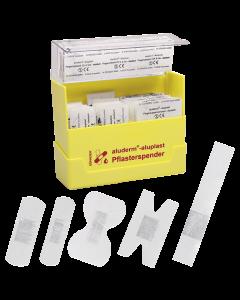 Pflasterspender gelb aluderm®-aluplast gefüllt