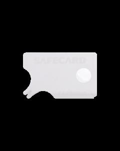Zeckenkarte im Schieber aus Kunststoff