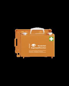 Kombi-Set Augenspülstation QUICK-CD orange