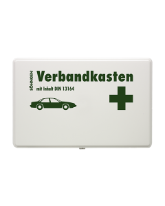 KFZ-Verbandkasten KU-weiß mit Füllung Standard DIN 13164