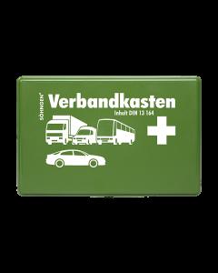 KFZ-Verbandkasten KU grün mit Füllung Standard DIN 13164