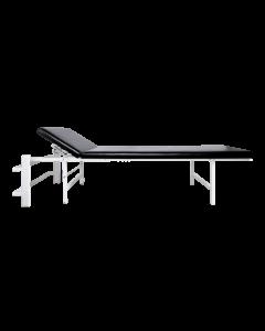Wandklapp-Ruheraumliege Stahl Kopfteil verst.,senkr.,schwarz