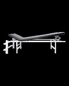 Wandklapp-Ruheraumliege Stahl Kopf/Fuß verst.,senkr. schwarz