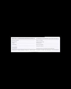 Miniblock Notfallversorgungs- nachweis, 40 Blatt
