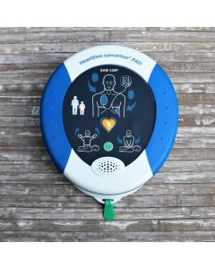 AED Defibrillator HeartSine SAM 350P-Med im Koffer + Erste Hilfe-Set